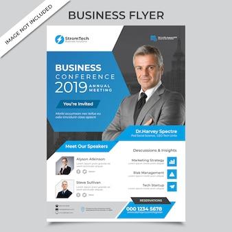 Flyer de negócios