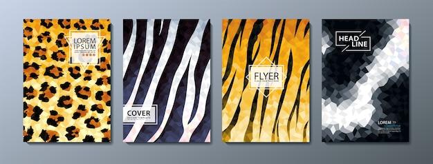 Flyer, modelo de capa de livro.