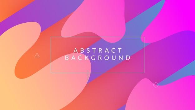 Flyer moderno. banner futurista. convite colorido. quadro móvel. página inicial do fluxo. fluid journal. art liquid design. tampa de plástico rosa. lilac modern flyer