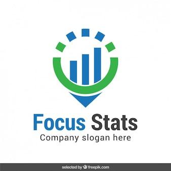 Foco status de logotipo