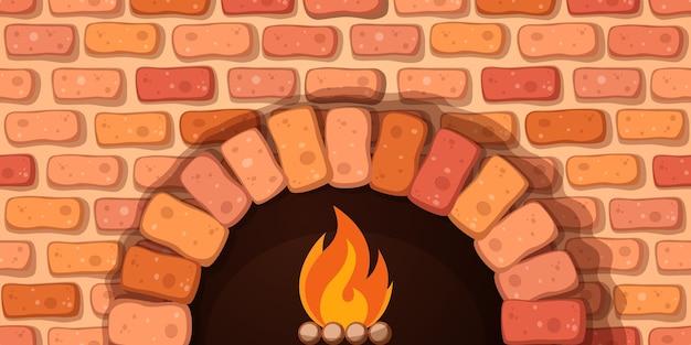 Fogão da fogueira do forno