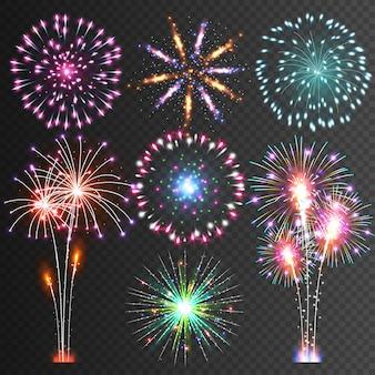 Fogo de artifício festivo
