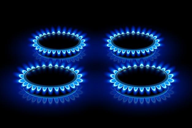 Fogões a gás