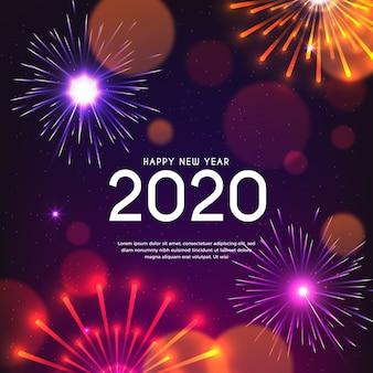 Fogos de artifício ano novo 2020