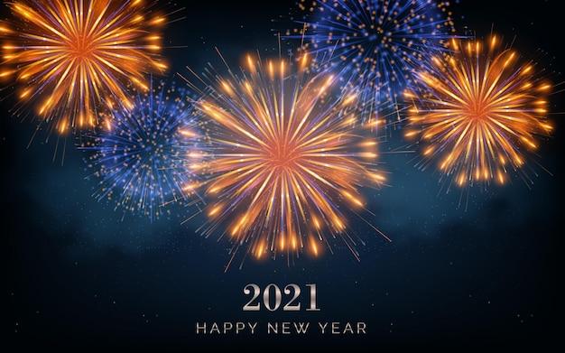 Fogos de artifício ano novo 2021