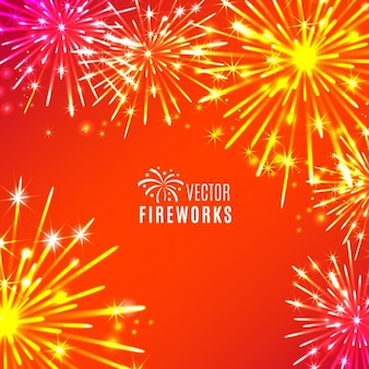 Fogos de artifício bacground