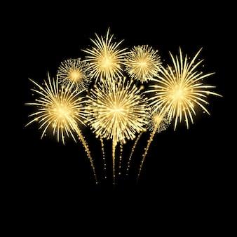 Fogos de artifício do festival
