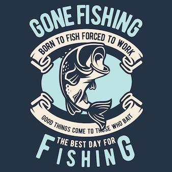 Foi pescar