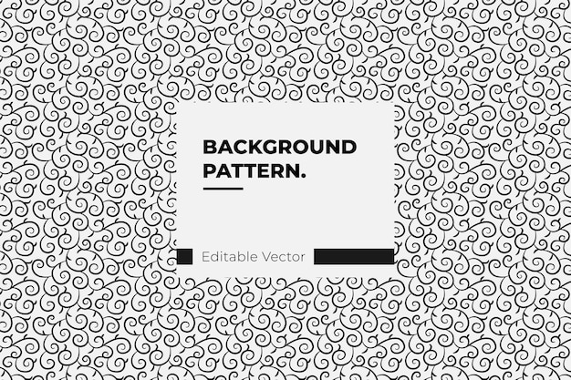 Folha de arte de decoração gráfica padrão - padrão