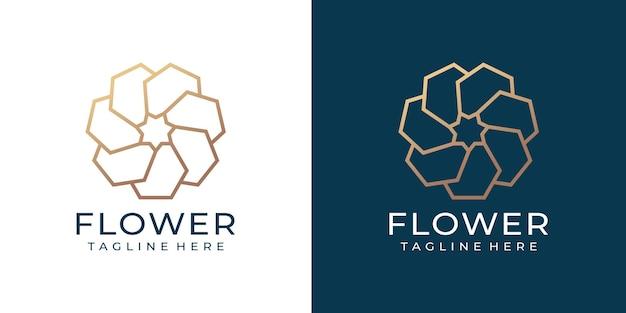 Folha de flores minimalista zen spa, moda, elegância, logotipo, inspiração