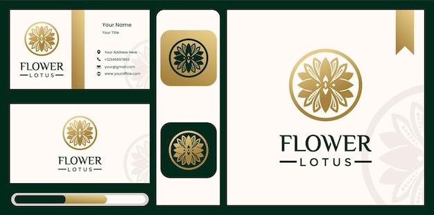 Folha flor logo natureza simples