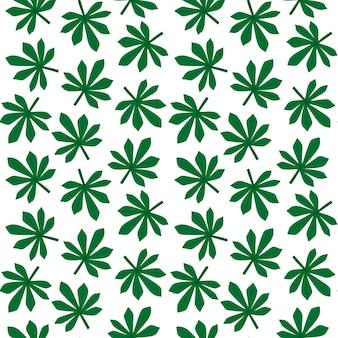 Folhas exóticas, floresta tropical. sem costura, padrão tropical desenhado de mão. ilustração vetorial. fundo floral para têxteis, design de superfície.