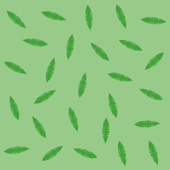 Folhas verdes de fundo
