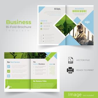 Folheto bi de negócios