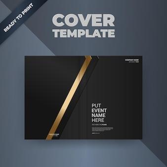 Folheto brochura design modelo capa design