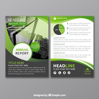 Folheto comercial plano em tamanho a5