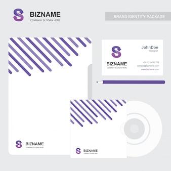 Folheto da empresa com design elegent e também com logotipo s