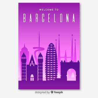 Folheto de barcelona