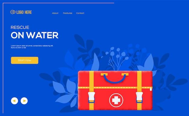 Folheto de conceito de drogas, banner da web, cabeçalho da interface do usuário, insira o site.