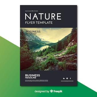 Folheto de natureza