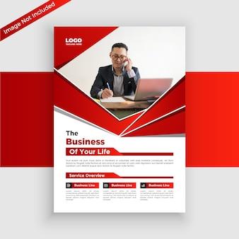 Folheto de negócios criativos