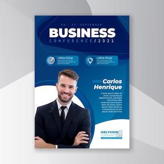 Folheto de negócios em geral