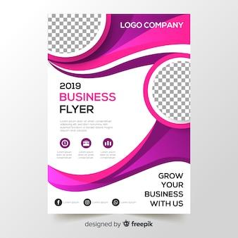 Folheto de negócios