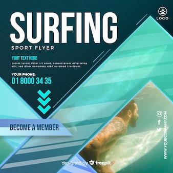 Folheto de surf