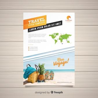 Folheto de viagem