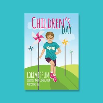 Folheto do dia das crianças