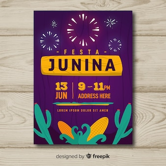 Folheto festa junina