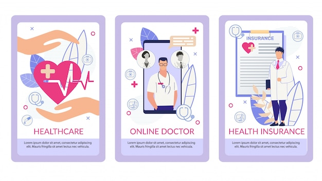 Folheto informativo escrito plano de seguro de saúde.