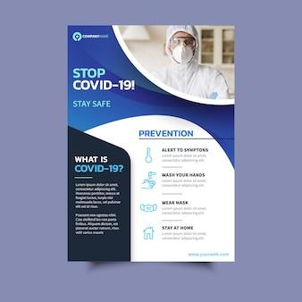 Folheto informativo sobre o coronavírus