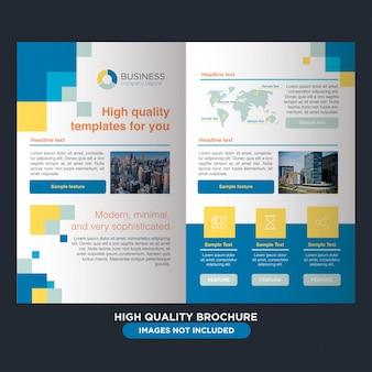Folheto profissional para negócios polivalentes