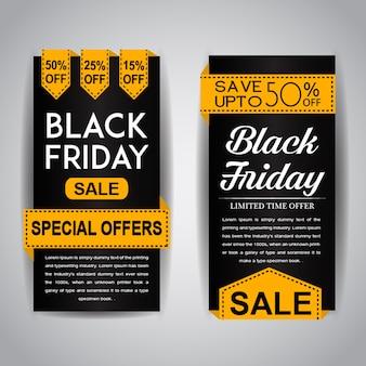 Folhetos da venda sexta-feira negra