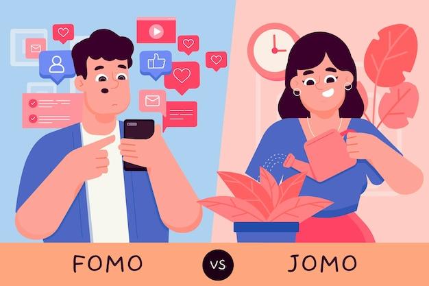 Fomo vs jomo