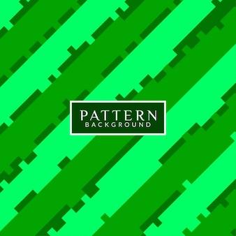 Fondo patrón abstracto, verde