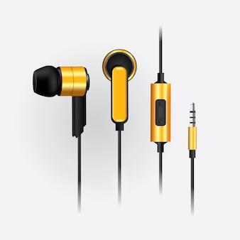 Fones de ouvido de música com telefone