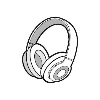 Fones de ouvido sem fio isolado