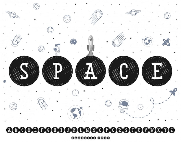 Fonte do espaço.