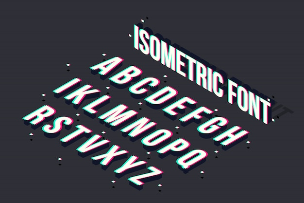 Fonte isométrica de falha