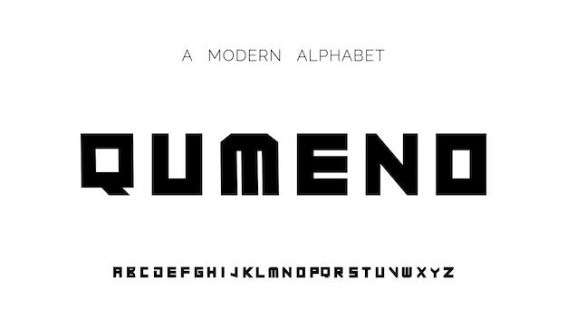 Fontes modernas criativas fontes do alfabeto modernas
