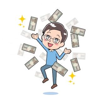 Fora da linha dad_flying-money