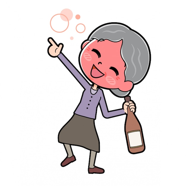 Fora da linha purple wear grandma