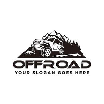 Fora do logotipo da estrada, aventuras fora da estrada