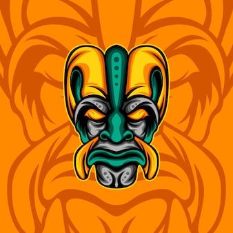 Força étnica laranja