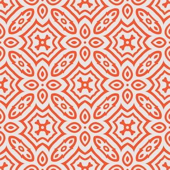 Forma abstrata sem costura de duas cores. fundo de ornamento de padrão simples