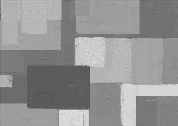 Forma de quadrados coloridos de pintura abstrata.