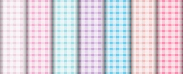 Forma elegante padrão cores pastel fundo conjunto