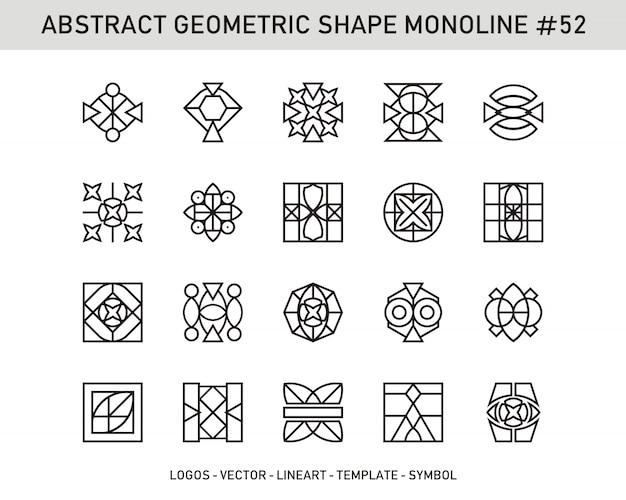 Forma geométrica abstrata # 52